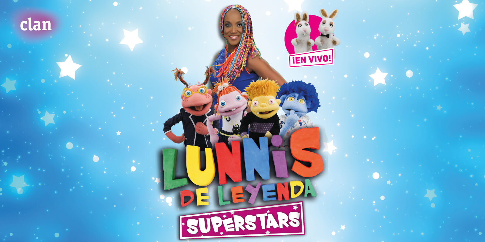 lunnis de leyenda superstars en vivo